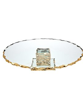 Godinger Silver Art Co Harper Cake Stand & Reviews by Godinger Silver Art Co