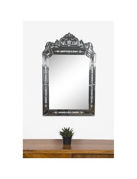 Rosdorf Park Vertical Framed Glass Wall Mirror by Rosdorf Park