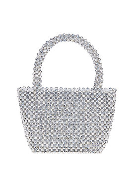 Mina Beaded Tote Bag by Loeffler Randall