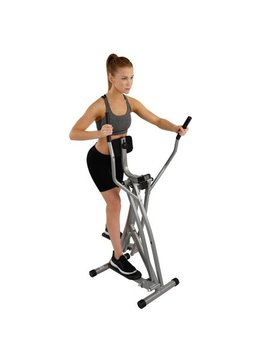 Sunny Health & Fitness Sf E902 Air Walk Trainer Glider W/ Lcd Monitor by Sunny Health & Fitness