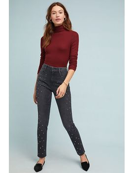 Social Standard High Rise Studded Skinny Jeans by Sanctuary