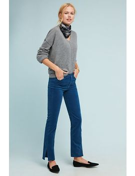 M.I.H Daily High Rise Velvet Straight Jeans by M.I.H