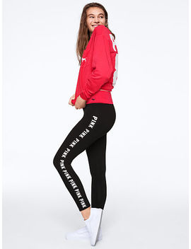New! Online Exclusive! Foldover Waist Yoga Legging by Victoria's Secret