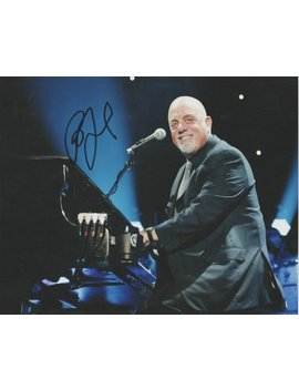 Billy Joel Signed Autographed 8x10 Professional Photo ( Reprint ) Rock Music Super Star .. Ready To Frame And Display .... Free Shipping by Etsy