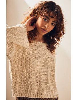 Mink Pink Night Out Metallic Sweater by Pacsun