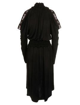 Gaelle Bonheur Cold Shoulder Flared Dress by Gaelle Bonheur