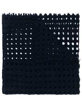 Perforated Scarf by Faliero Sarti