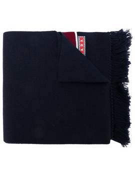 Knit Logo Scarf by Prada