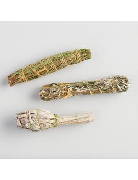 Assorted Mini Smudge Sticks 3 Pack by World Market