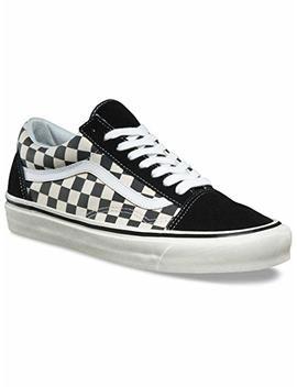Vans Old Skool 36 Dx Plimsolls Black & White Checks by Vans