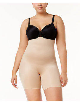 Women's  Plus Size Power Conceal Her High Waisted Mid Thigh Short 10132 P by Spanx