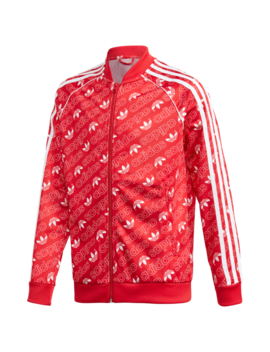 Adidas Originals Repeating Trefoil Track Top by Foot Locker