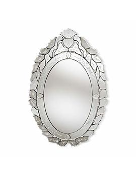 Baxton Studio Livia Silver Finished Venetian Style Accent Wall Mirror by Baxton Studio