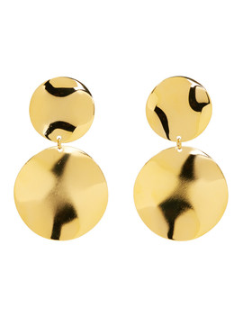 Gold Petals Earrings by Isabel Marant
