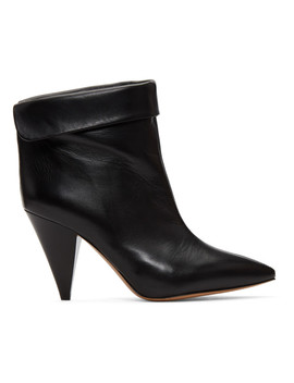 Black Lisbo Boots by Isabel Marant