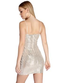A Dapper Soiree Sequin Dress by Windsor