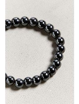 Executive Society Metallic Beaded Bracelet by Executive Society