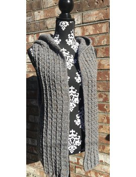 Hooded Sweater Vest Crochet | Sleeveless Cardigan by Etsy
