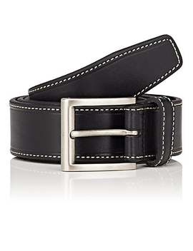 Smooth Leather Belt by Barneys New York