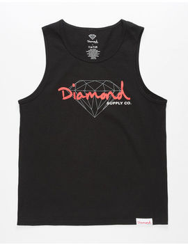 Diamond Supply Co. Brilliant Script Boys Tank Top by Diamond Supply Co.