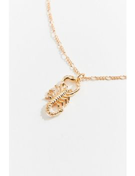 Simi Scorpion Pendant Necklace by Urban Outfitters