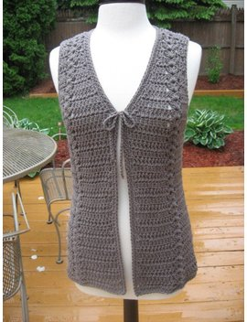Crochet Pattern, Meadows Vest With Matching Belt, Crochet Pattern Pdf, Instant Download Available by Etsy