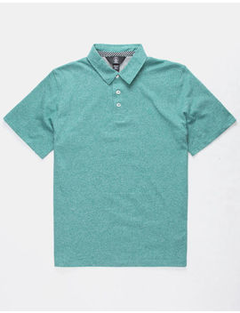 Volcom Wowzer Deep Sea Boys Polo Shirt by Volcom
