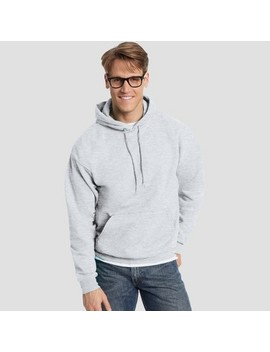 Hanes Men's Eco Smart Fleece Pullover Hooded Sweatshirt by Hanes