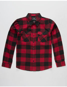 Shouthouse Buffalo Boys Flannel Shirt by Shouthouse