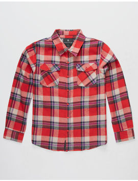 Shouthouse Oroville Boys Flannel Shirt by Shouthouse