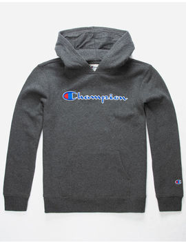 Champion Heritage Charcoal Boys Hoodie by Champion