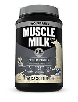 Muscle Milk Pro Series Protein Powder, Intense Vanilla, 50g Protein, 2.54 Pound by Muscle Milk