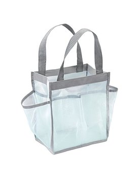 Inter Design Water Resistant Tote For Bathroom Shower, College Dorm, Garden, Beach by Inter Design