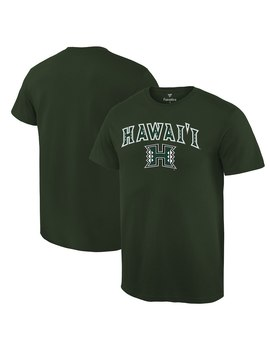 Hawaii Warriors Campus T Shirt   Green by Fanatics Branded