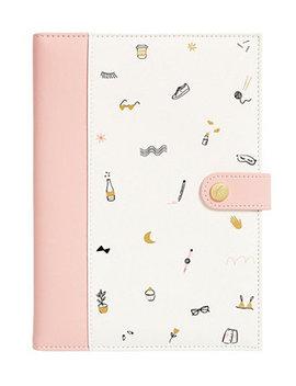 A5 Leather Notebook by Kikki.K