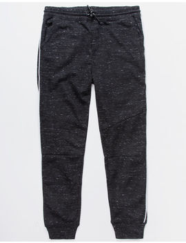 Brooklyn Cloth Contrast Piping Black Boys Jogger Pants by Brooklyn Cloth