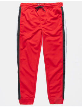 Brooklyn Cloth Stripe Tape Red Boys Jogger Pants by Brooklyn Cloth