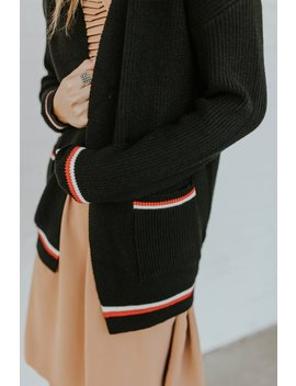 Desmond Stripe Cardigan by Roolee