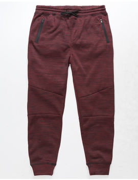 Brooklyn Cloth Space Dye Burgundy Boys Jogger Pants by Brooklyn Cloth