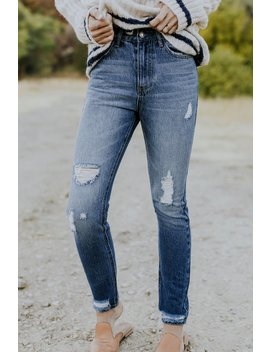 Naylor Distressed Jeans by Roolee