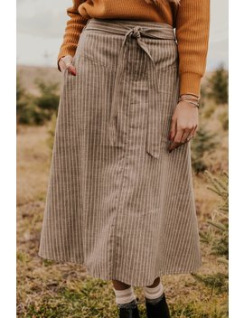Driggs Woven Skirt by Roolee