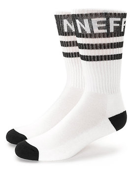 Neff Promo White & Black Crew Socks by Neff