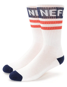 Neff Promo Red, White & Blue Crew Socks by Neff