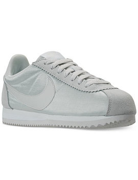 Women's Classic Cortez Nylon Casual Sneakers From Finish Line by Nike