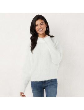 Women's Lc Lauren Conrad Mockneck Dolman Sweater by Kohl's