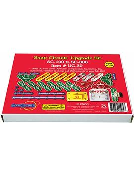 Snap Circuits Uc 30 Electronics Exploration Upgrade Kit | Sc 100 To Sc 300 | Upgrade Junior To Classic by Snap Circuits