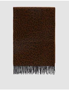 Leopard Print Scarf by Farrow