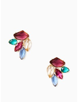 Rock It Cluster Studs by Kate Spade