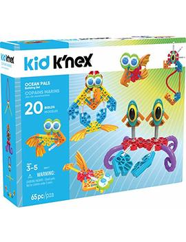 K'nex Kid Ocean Pals Building Set – 65 Piece – Ages 3 & Up Preschool Educational Toy Building Set by K'nex