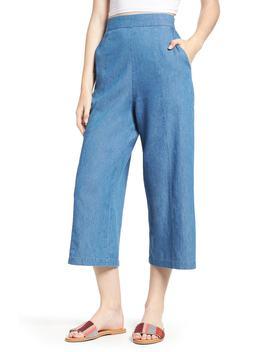Tacoma High Waist Wide Leg Denim Pants by Bp.